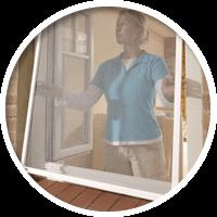 УНИВЕРСАЛЬНАЯ Установка возможна на любые дверные или оконные проёмы